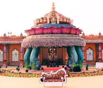 mandap south indian wedding decor