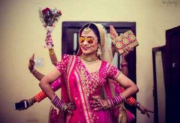 Photo of Fun Bridesmaids Shot