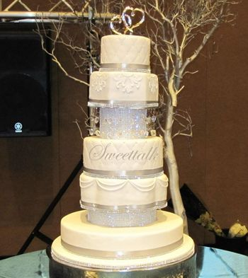 Reception tier cake