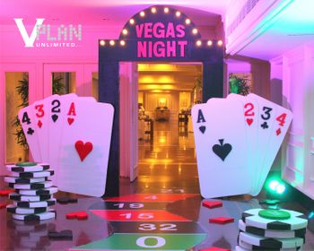 Photo of Casino themed party