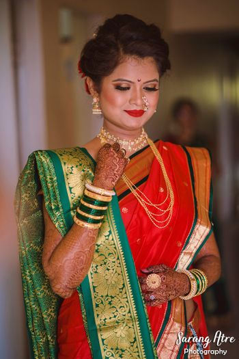 Marathi bride portrait