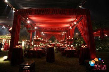 Photo of reception decor
