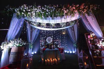 Photo of Wedding entrance decor