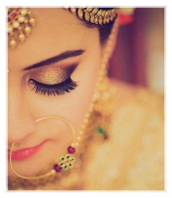 Photo of Closeup bride shot