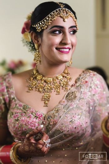 Flawless, smiling bridal portrait!