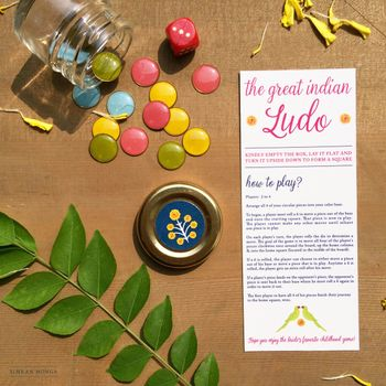 Photo of Interactive ludo wedding card packaging
