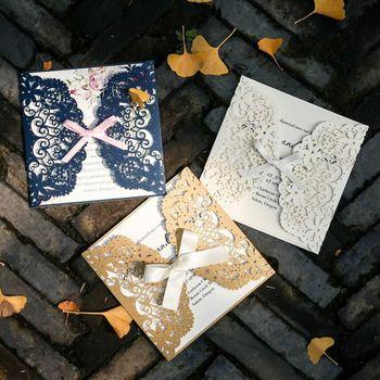 Unique wedding invitation card ideas