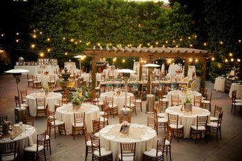 Intimate wedding table setting idea