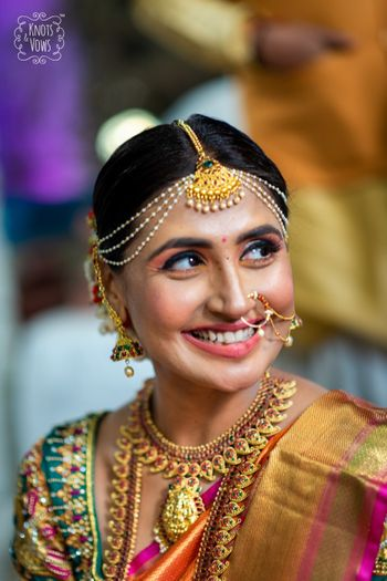 South Indian bridal portrait!