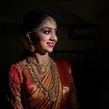 A south Indian bridal portrait