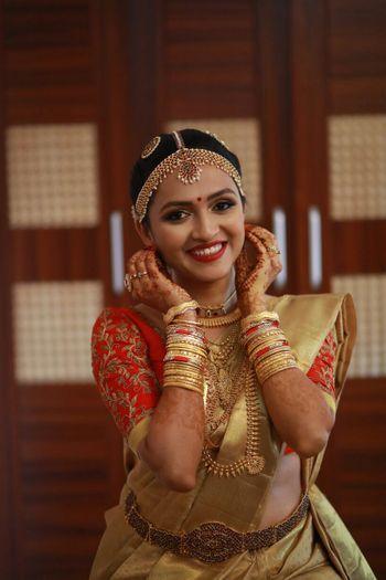 South Indian Bridal shot