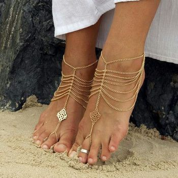 Photo of Modern tribal jewellery for feet