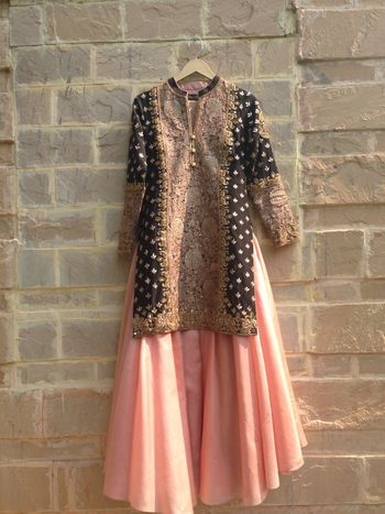 Photo of sangeet outfit