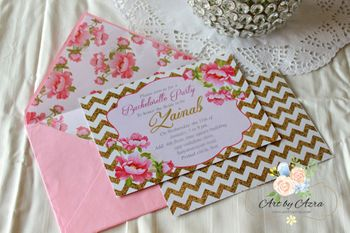 Photo of Bachelorette Invitation in pink!