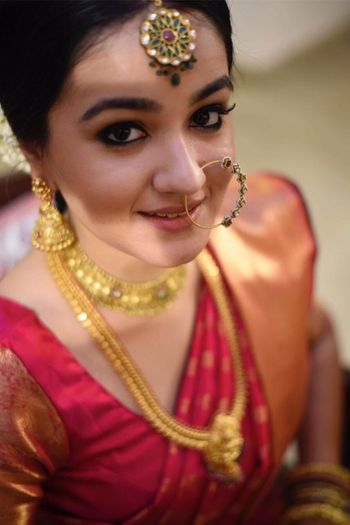 Photo of south indian bridal look