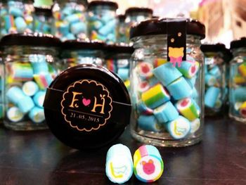Photo of Personalised candy as wedding favors