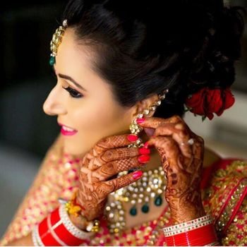 Photo of Wedding day bride shot!
