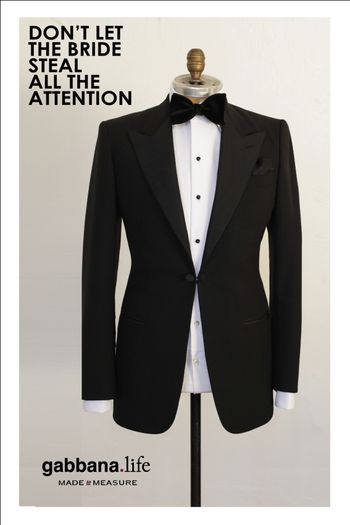 Photo of classic black tux