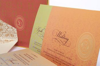 Turmeric Ink Invitations and Stationery