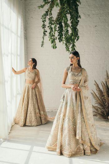 Pastel bridal lehengas for brides