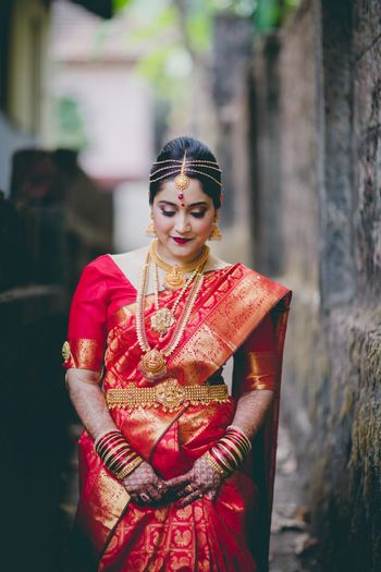 Temple jewellery for south indian brides
