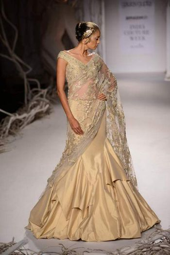Amazon India couture week 1015 gaurav gupta
