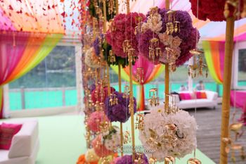 Photo of Purple and Pink Floral Decor with Kaleere