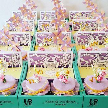 Lavender Invitations & Favors Photo