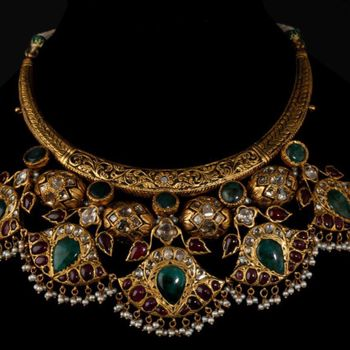 Photo of gold necklace