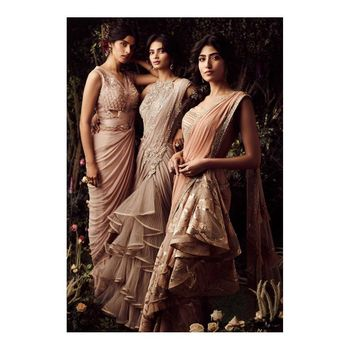 Photo of Sari for modern bridesmaids