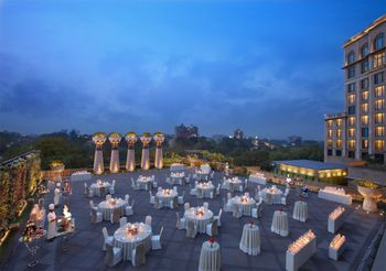 Leela Chennai open air venue