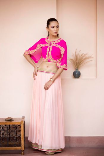Photo of light lehenga