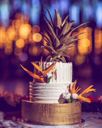 Two-tier engagement cake ideas
