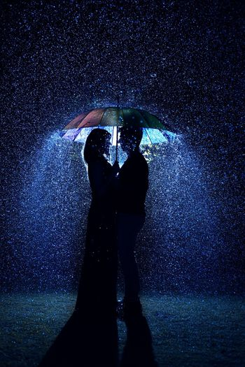 Photo of Pre wedding shoot in the rain