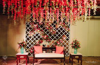 Pretty in pink mehndi decor