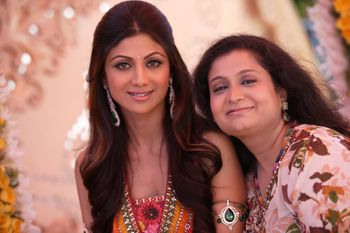 Shilpa Shetty at wedding