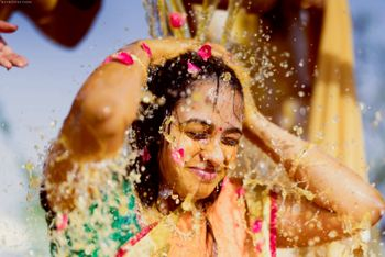 a stunning Mangalasnanam shot