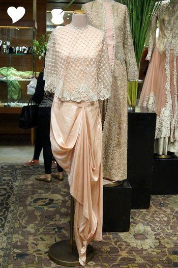 draped gown sari