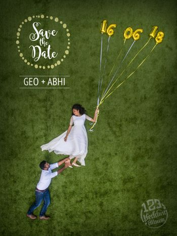 Photo of Save the date shot