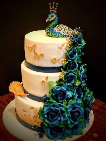 Photo of Three tier wedding cake