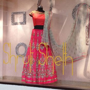 Shruti Sheth Couture bridal lehenga