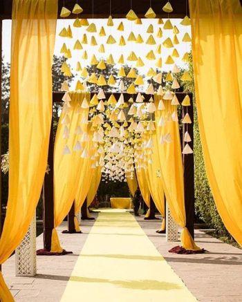 DIY entrance decor