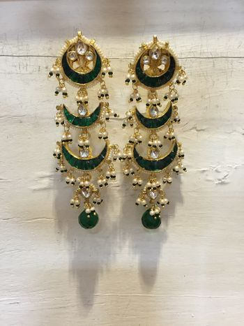 Photo of enamel earrings