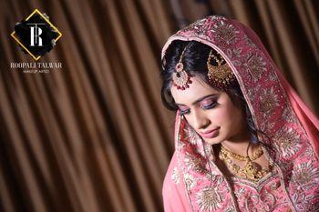 A bride at her wedding