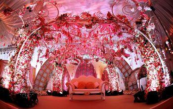 glamorous stage decor