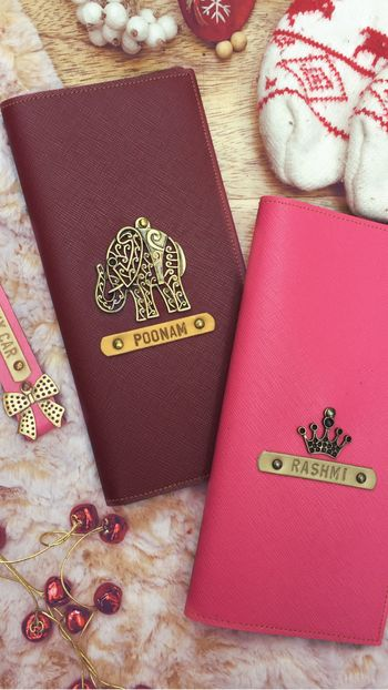 Bachelorette favour personalised passport case