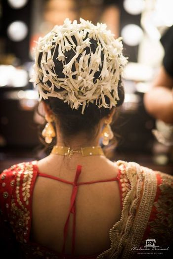hair bridal bun