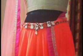 Photo of orange waist belt