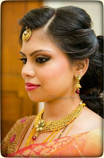gold shade makeup
