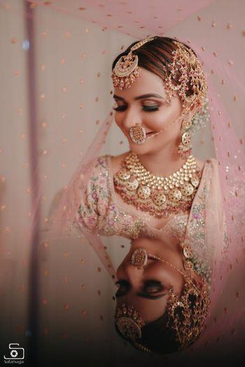 Bridal veil shot.